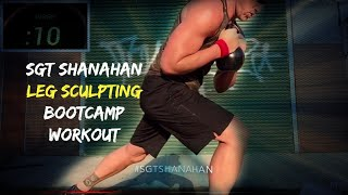 Sgt Shanahan Kettlebell Leg Bootcamp Workout | 30 Minutes