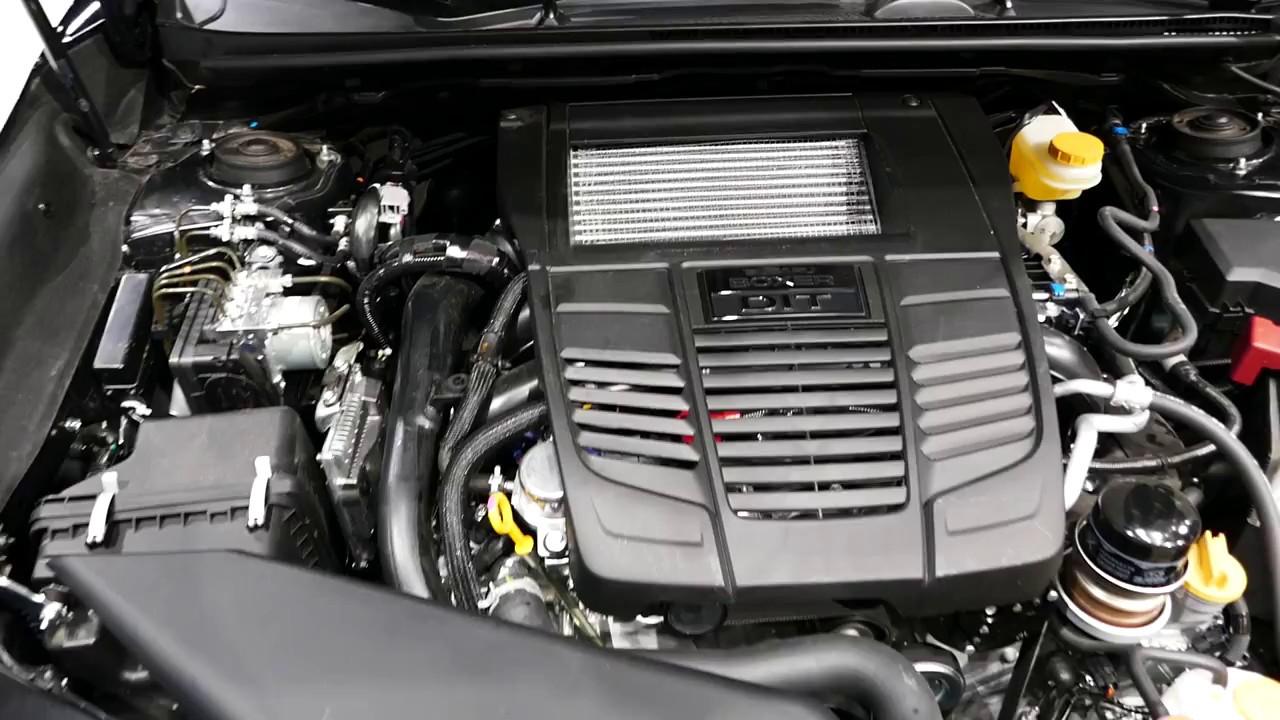 New 2018 Subaru Wrx Sports Sedan Engine Bay Tour 2017 La Auto Show Los Angeles Ca