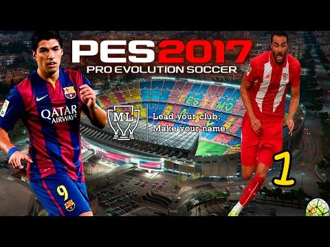 Pes 2017 (PC) II LM #1 II FC BARCELONA II DEBUTAMOS EN LA SUPERCOPA