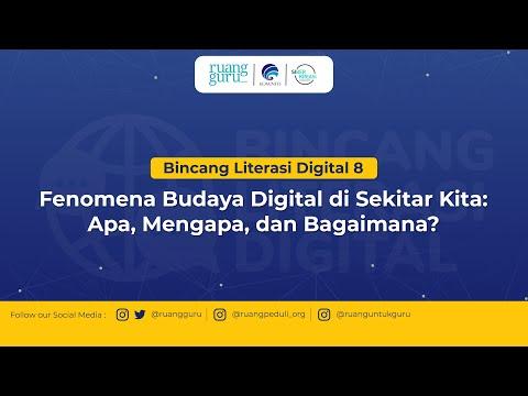 Bincang Digital Bersama Ruangguru, Kominfo dan Siberkreasi