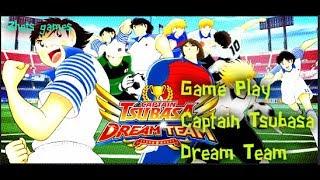 Game play de Captain Tsubasa: Dream Team en español!!