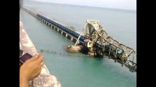 Rameswaram Ralway Bridge - Wonderful Construction