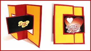 Gambar cover Valentine's Special | How to make swing card | creative card ideas | by diy quick crafts