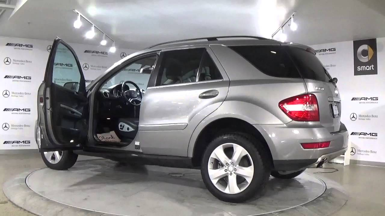 mercedes benz 2010 ml350 4matic youtube. Black Bedroom Furniture Sets. Home Design Ideas