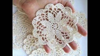 Tığişi Örgü Dantel Motifi Örnekleri, Çeyizlik motif Modelleri   Crochet