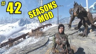 Fallout 4 SEASONS MOD - Walkthrough Part 42 - PC Gameplay 1080P60