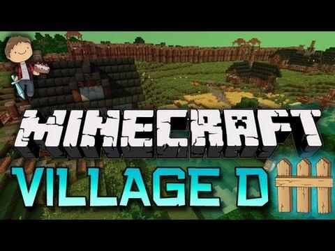 Minecraft: VILLAGER DEFENSE! Mini-Game w/Mitch & Jerome!