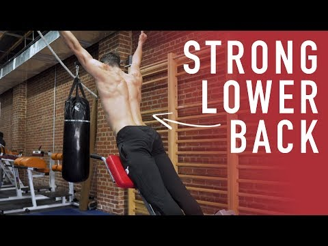 Bodyweight Exercise For Strong Lower Back (4 Variations)