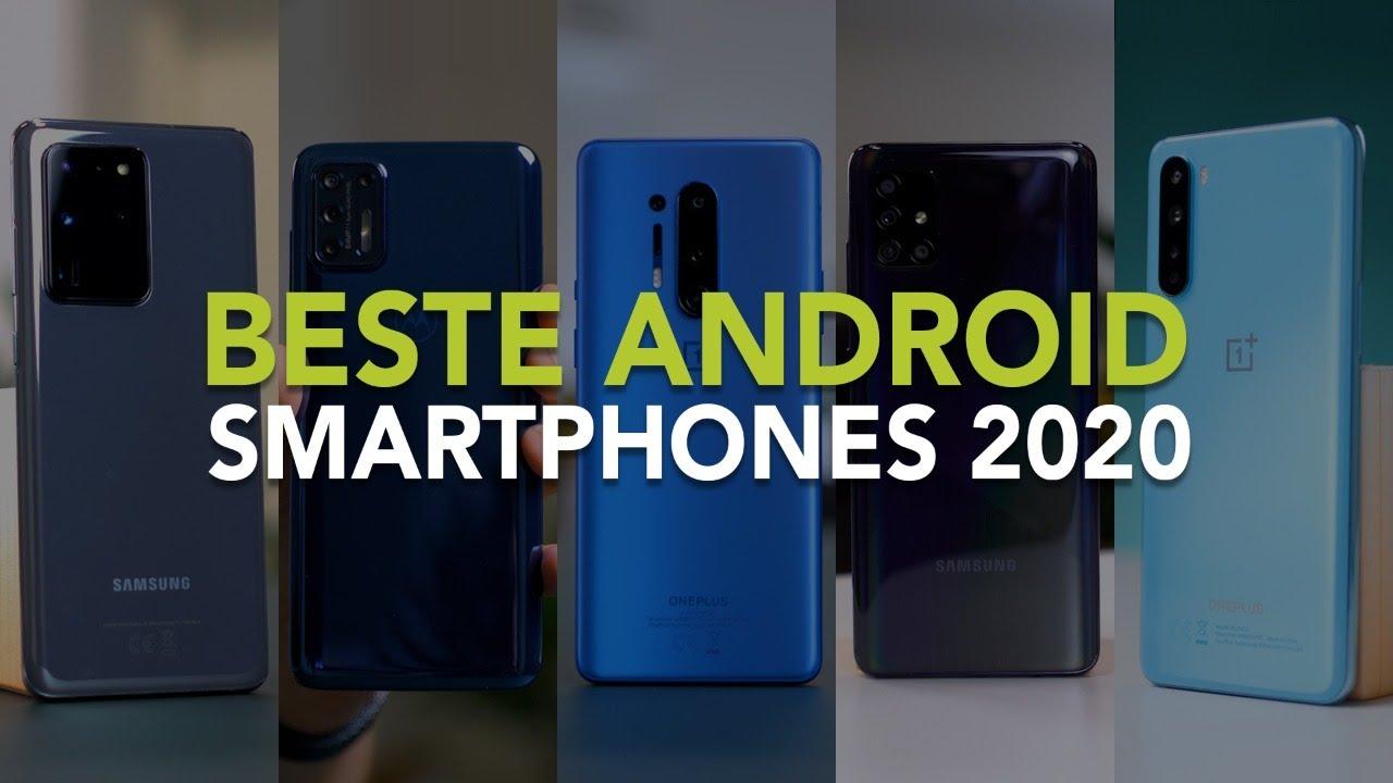 De 5 beste Android smartphones van 2020 volgens Android Planet