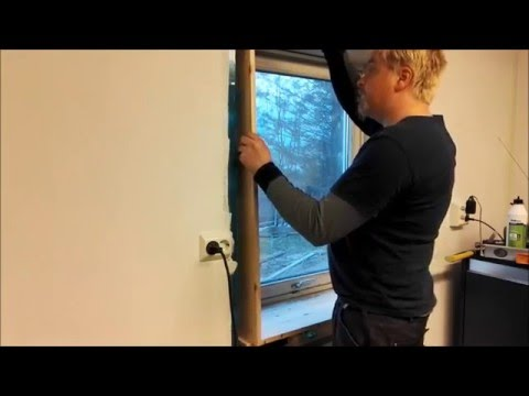 How To: Deep Sill Window With Pineboard's And Wooden Dowel's Method.