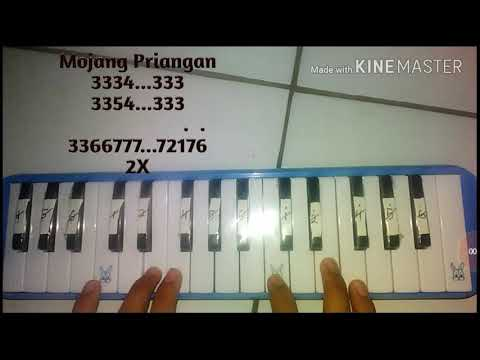 Not pianika mojang priangan (jabar)