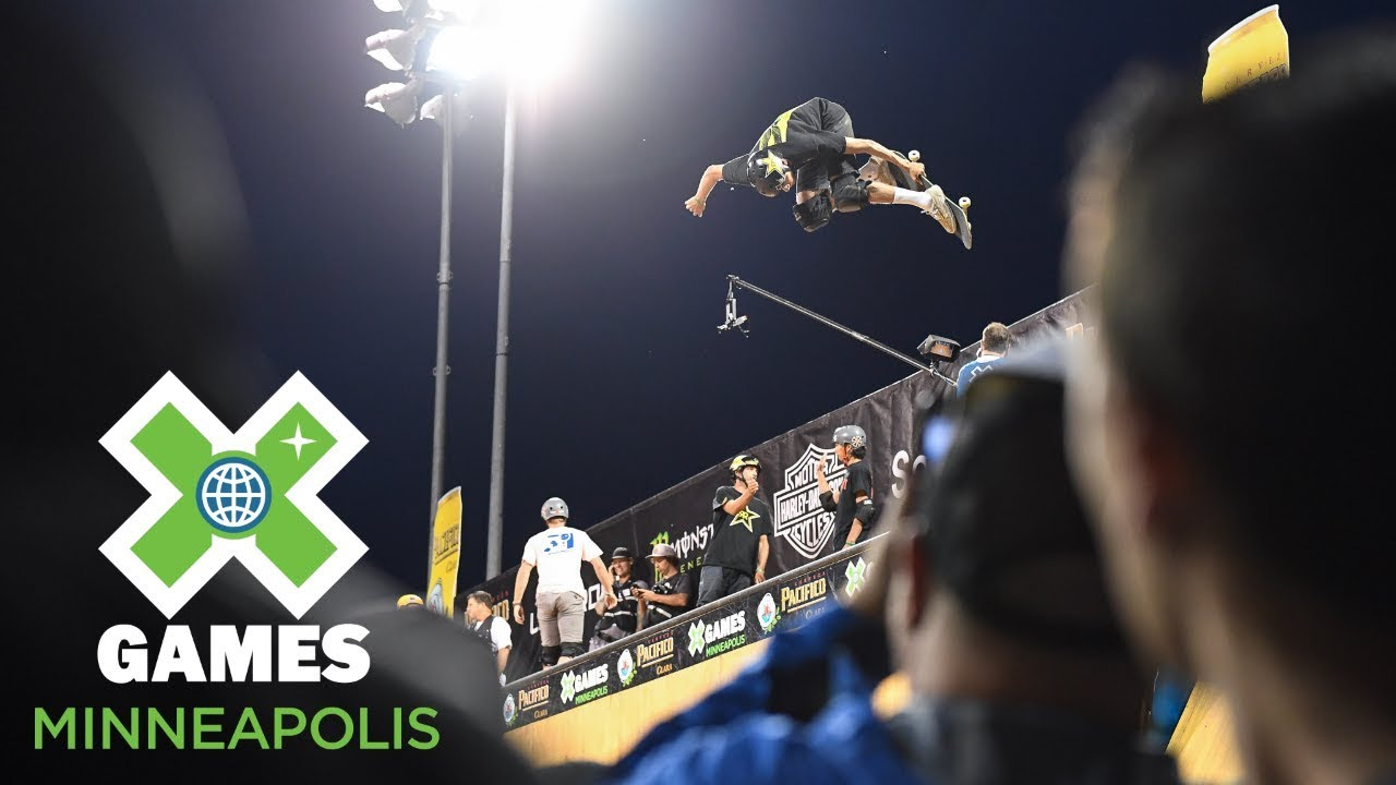 Jimmy Wilkins wins Skateboard Vert gold | X Games Minneapolis 2018
