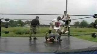 """All Out Wrestling---""""The Cardinal"""" Charles Colton MV"""