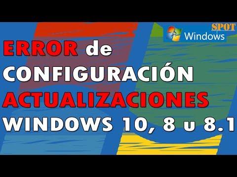 """""""Failure Configuring Windows Updates"""" in Windows 10, 8.1 or 8"""
