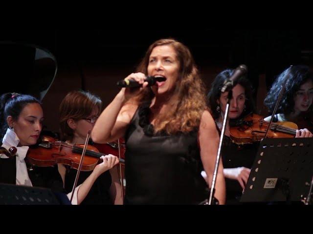 Cinema Verité (Charly García) - Sandra Mihanovich & KASHMIR Orquesta - Presentación del CD, CCK 2016