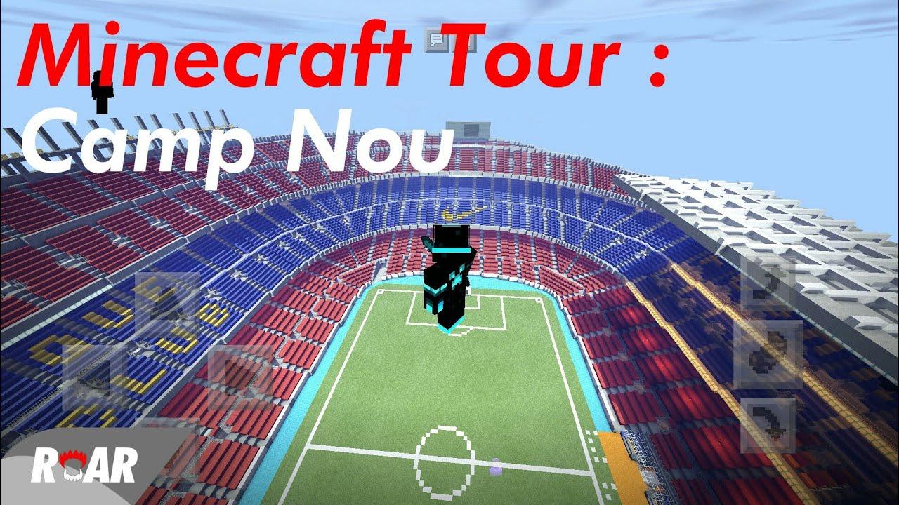 minecraft stadium download camp nou
