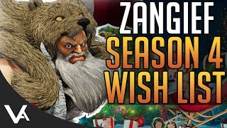 SFV - Zangief Wish List! Season 4 Changes Discussion For Street Fighter 5 Arcade Edition
