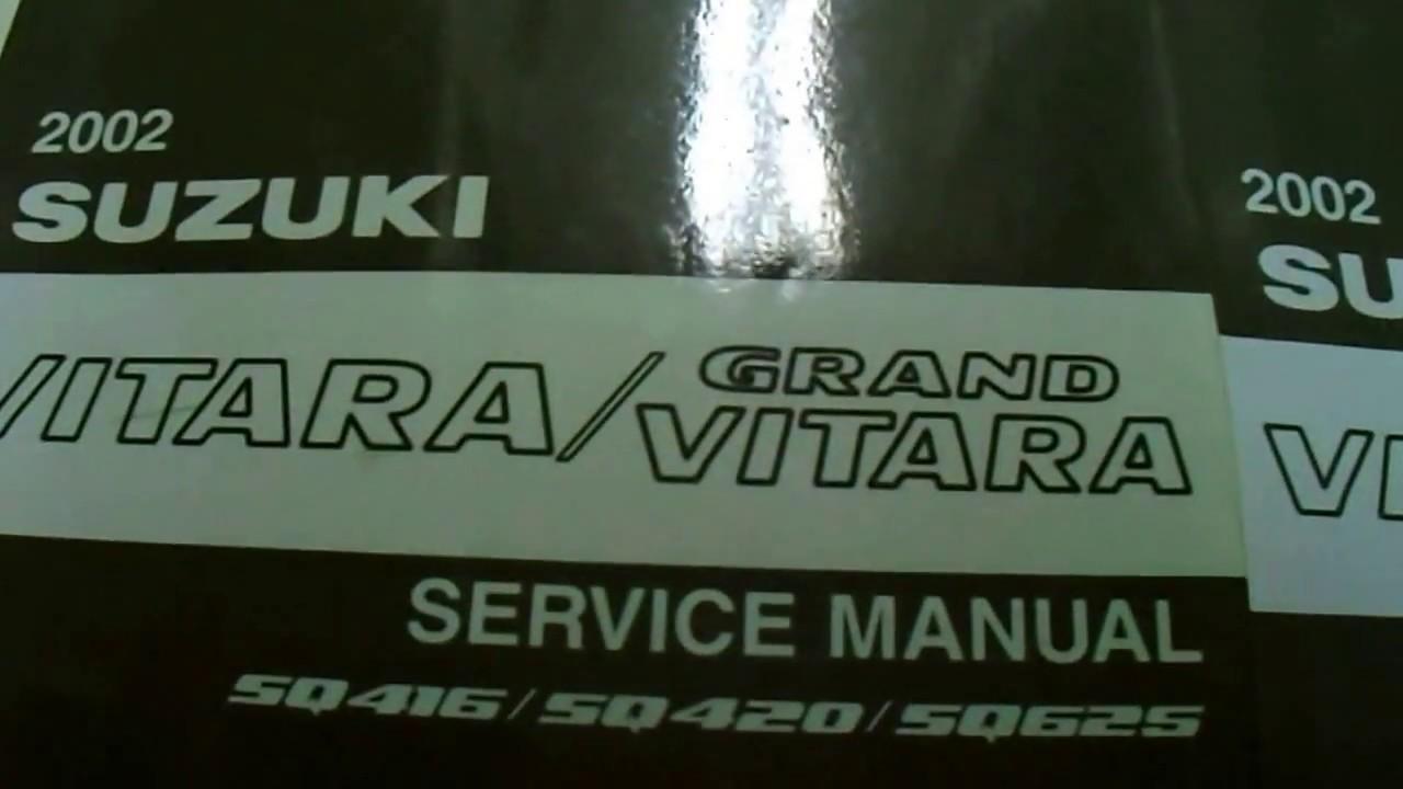 2002 suzuki grand vitara repair manual