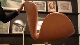 "Arne Jacobsen, ""The Swan Chair"", presented by Li Pamp, Deconet.com"