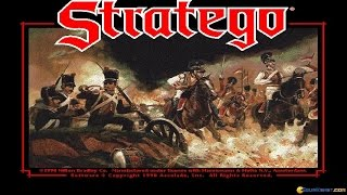 Stratego gameplay (PC Game, 1990)