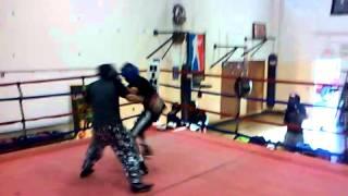 Shotgun boxing crew sparring Dark star