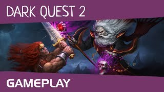 Dark Quest 2 - Gameplay (обзор игры по ссылке в описании к видео)