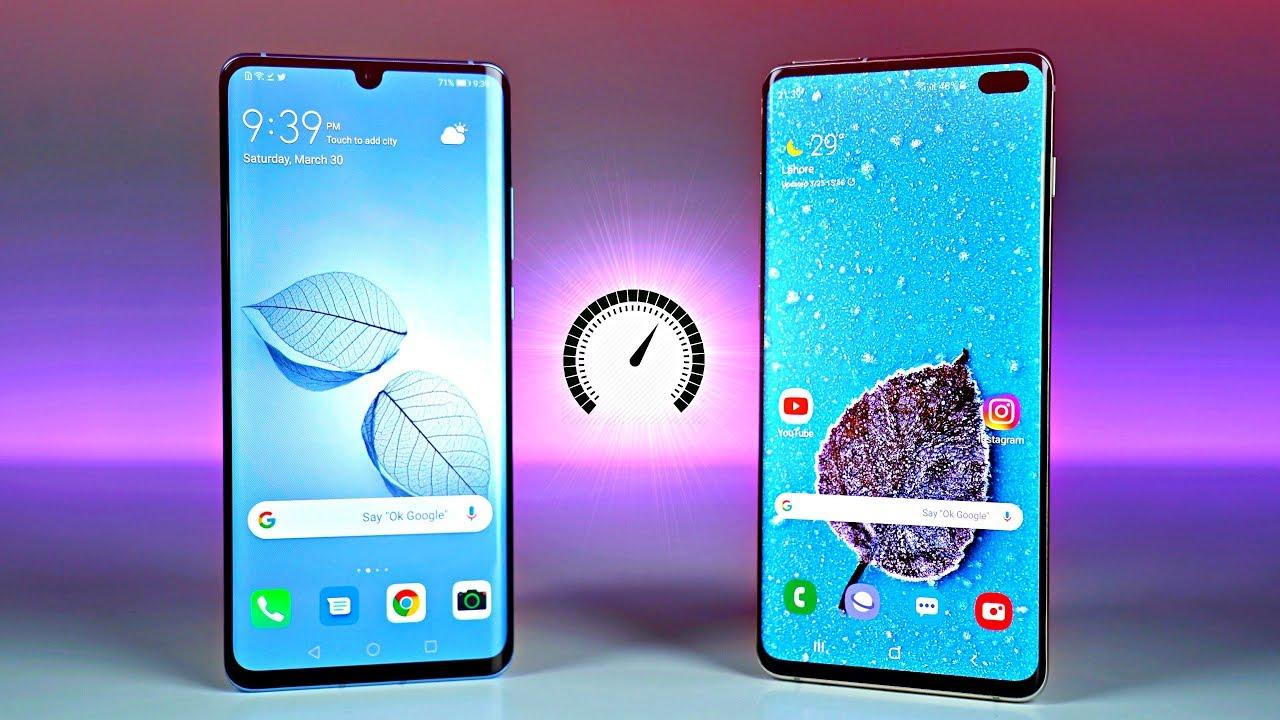 Samsung Galaxy S10 Vs Huawei P30