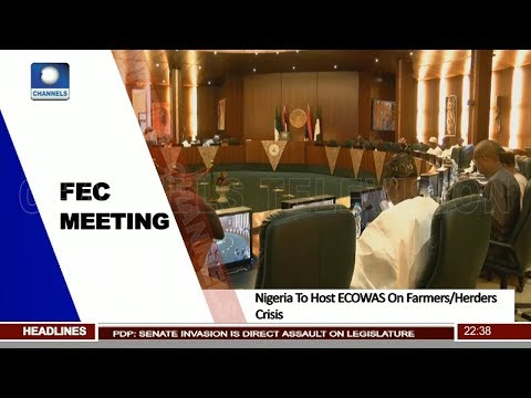 Nigeria To Host ECOWAS On Farmers/Herders Crisis Pt.3 |News@10| 18/04/18