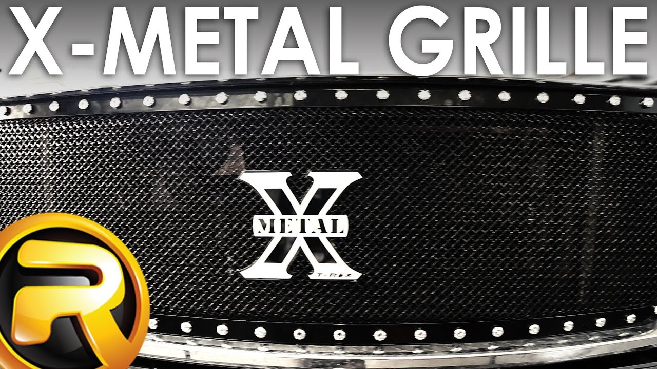 How To Install A T Rex X Metal Grille Youtube Fuel Filter 2007 F150 Truck
