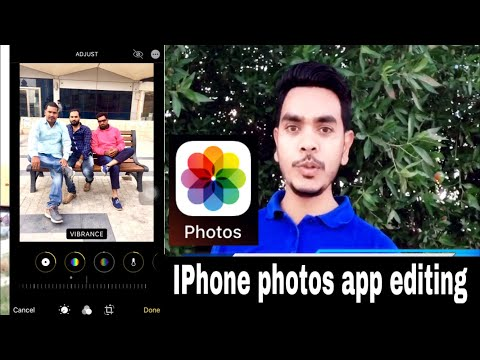 IPhone Photos App Editing Experience In Hindi | IPhone Photo Editor
