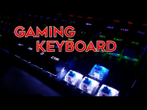 AUKEY Mechanical Gaming Keyboard Review - How to Customize Lights & Features