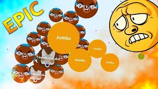 Agar.io SOLO VS TEAM !! Amazing Agario Gameplay ( Highlights )