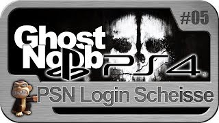 Cod Ghost Noob #5 Sony Playstation 4 Login Scheisse