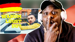 AMERICAN in GERMANY REACTS | SSIO - WARUM LÜGST DU? (Official Video)