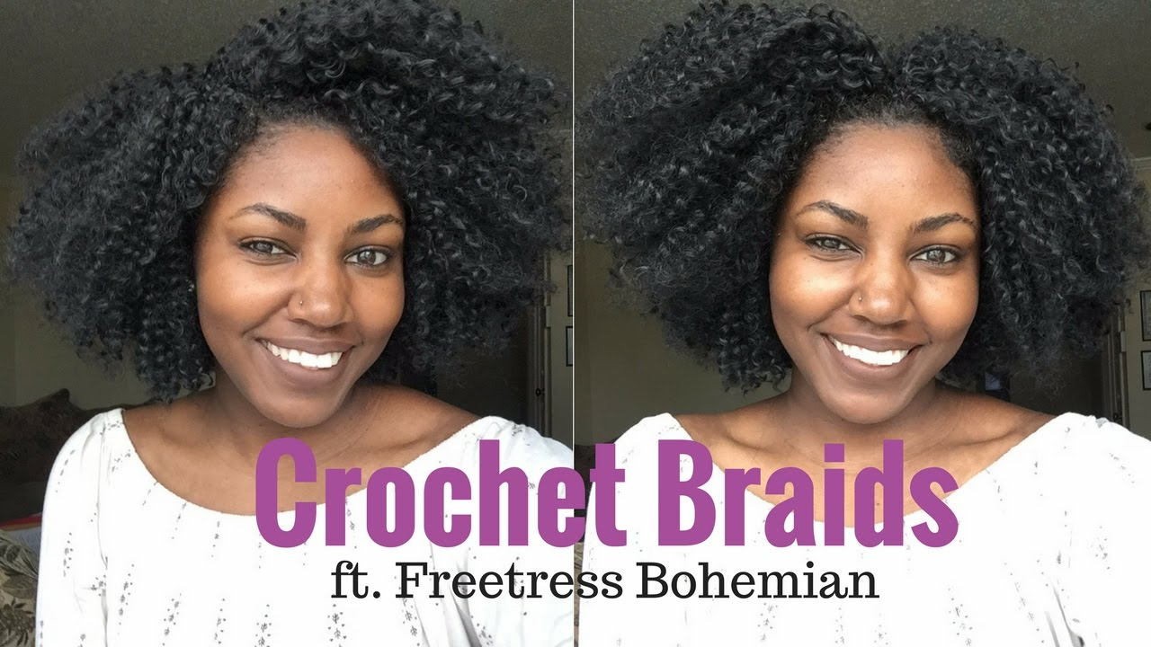 Most Natural Looking Crochet Braids With No Leave Out Ft Freetress