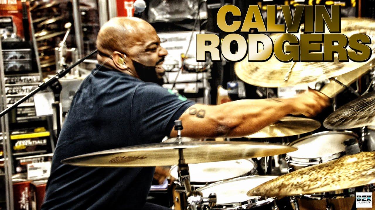 Calvin Rodgers Drumsbrand New Vid 2sabian Big Ugly Clinic