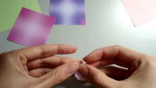 how to make origami: SAKURA |видео-урок оригами: сакура