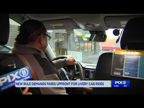 New Proposal Demands Fares Upfront For Livery Cab Drivers