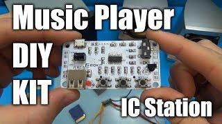 MP3 Music Player DIY KIT / IC Station ⚙️