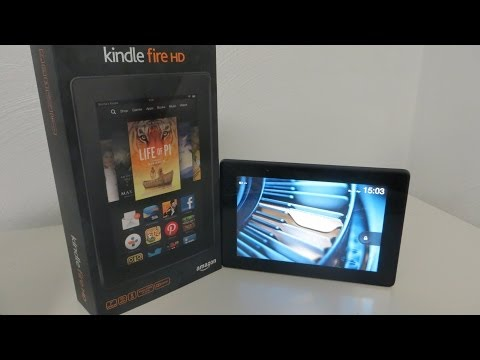 Amazon kindle fire HD 7 Zoll Erfahrungsbericht / Unboxing