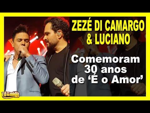 Zezé di Camargo e Luciano comemoram 30 anos de carreira