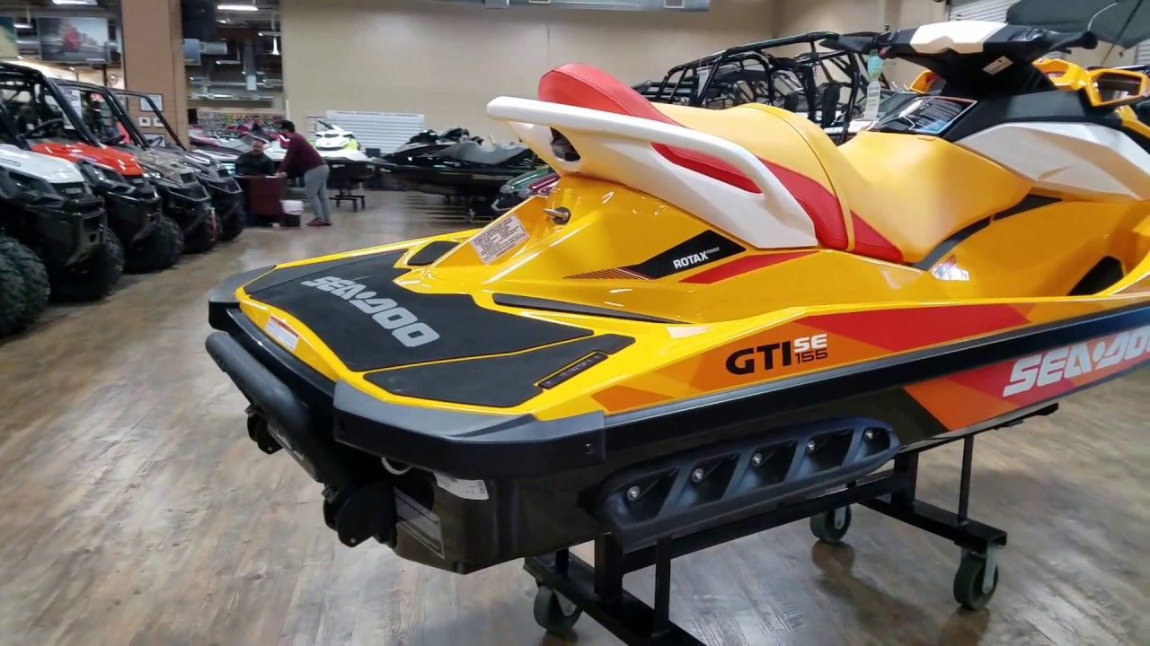 2017 SEA-DOO GTI SE 155 - YouTube
