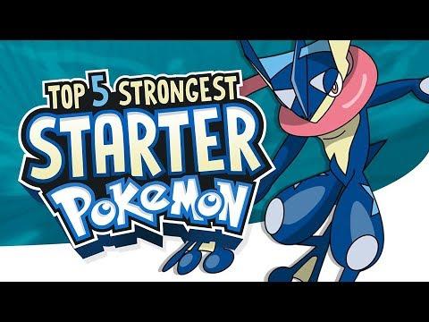 Top 5 Strongest Starter Pokemon