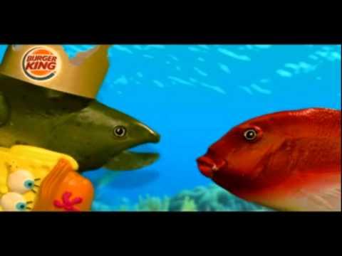Burger King Commercial for Spongebob Squarepants'