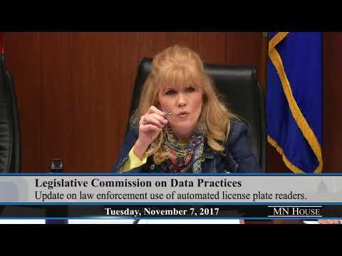 Legislative Commission on Data Practices  11/7/17