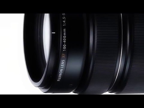 UP&COMING FUJINON XF100-400mm F4.5-5.6 R LM OIS WR super telephoto zoom w/ 5 ED Lens,1 Super ED Lens