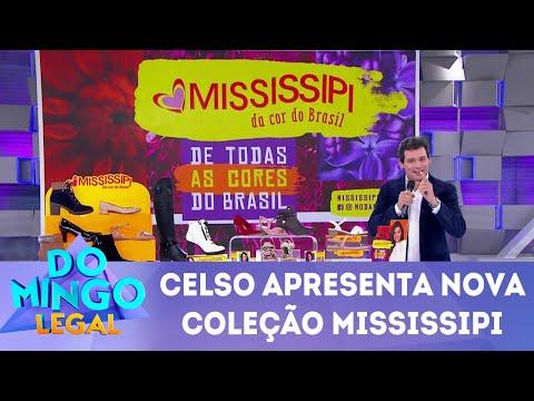 Celso Portiolli apresenta nova coleção da Mississipi | Domingo Legal (18/03/18)