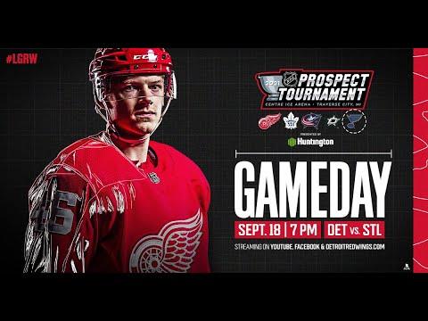 Download 2021 NHL Prospect Tournament - Detroit Red Wings vs. St. Louis Blues