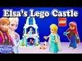 FROZEN DISNEY ELSA LEGO ELSA'S SPARKLING ICE CASTLE Elsa Frozen Anna Lego Play Set