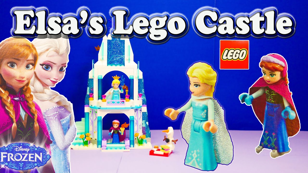 Unboxing The Frozen Elsa Lego Sparkling Ice Castle